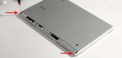 Задняя крышка Acer Iconia Tab